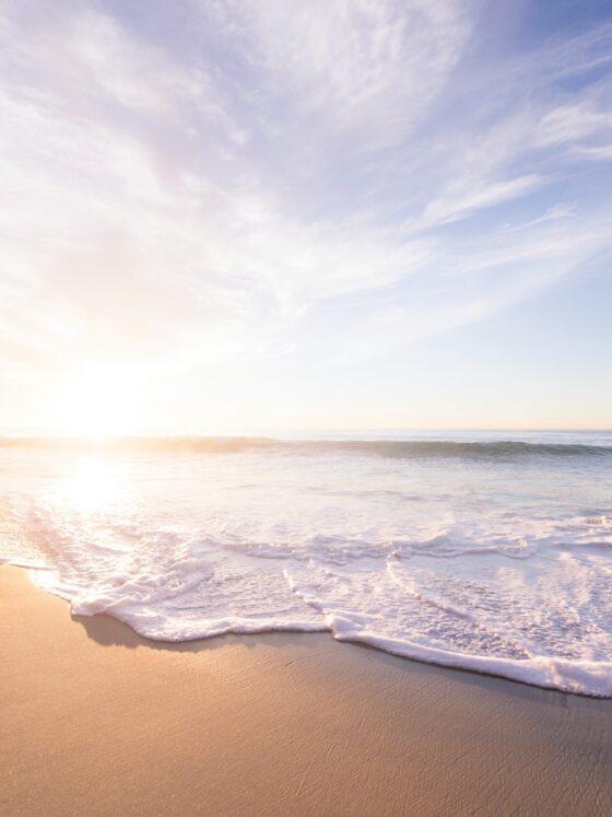 Sunscreen: Beach Scene