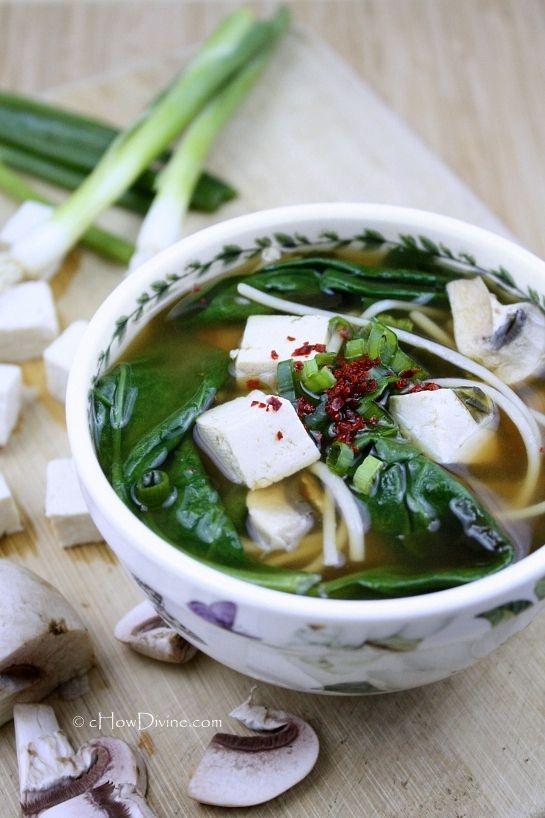 Pregnant: Miso Soup