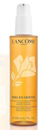 Facial Cleansers: Lancome Miel-En-Mousse