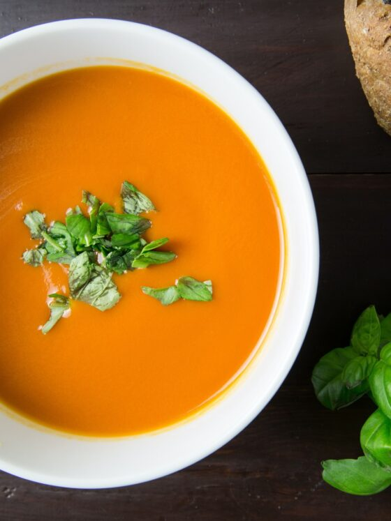 Carrot and Leek Soup