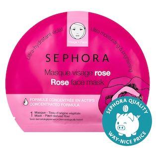 Rose: Sephora Face Mask