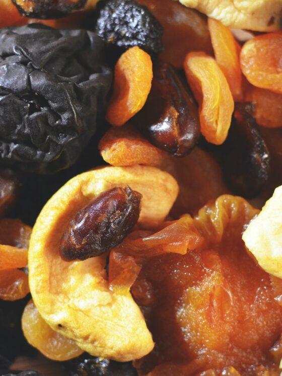 Trail Mix: Dried Fruit