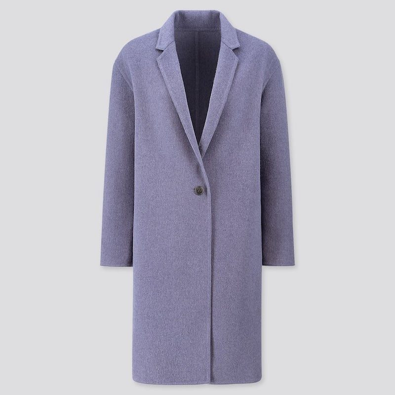Purple DIVINE Fall Coat