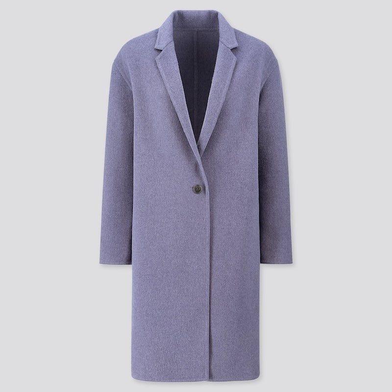 Purple DIVINE Fall Coat