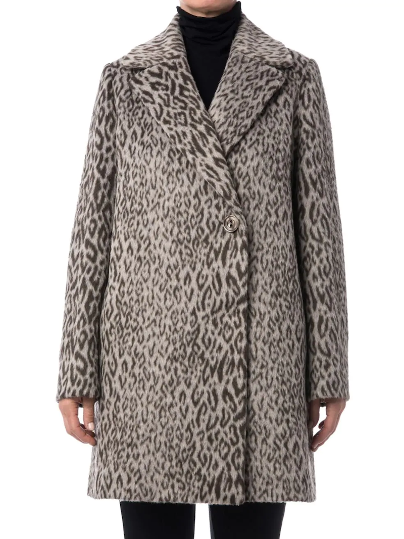 DIVINE Leopard Fall Coat