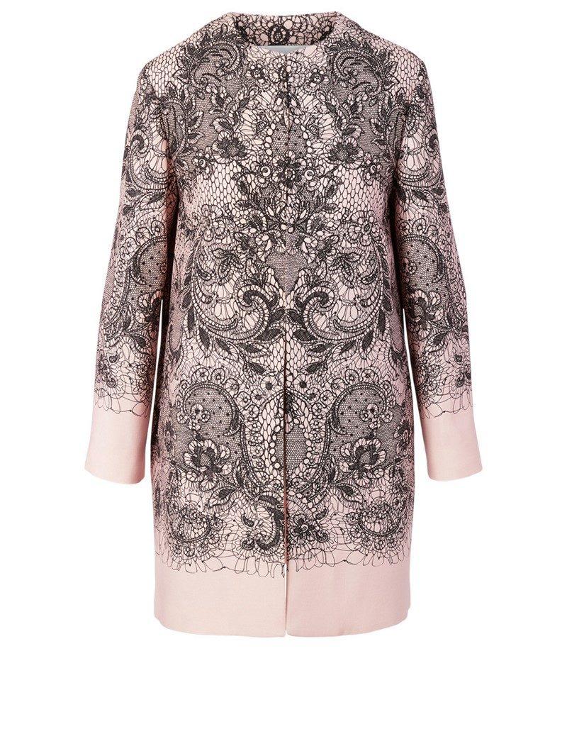 DIVINE Lace Fall Coat
