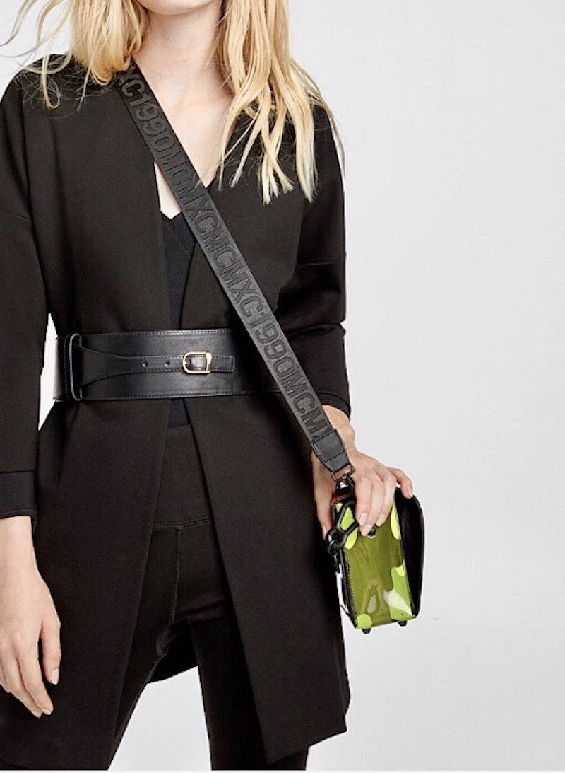 Fall Accessories Wide Belt from Simons