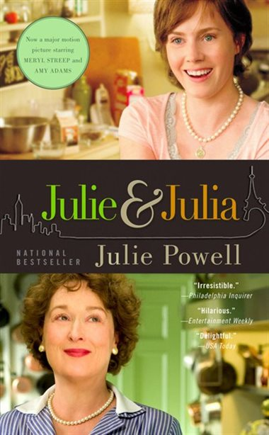 Julie and Julia by Julie Powell Book Cover Art