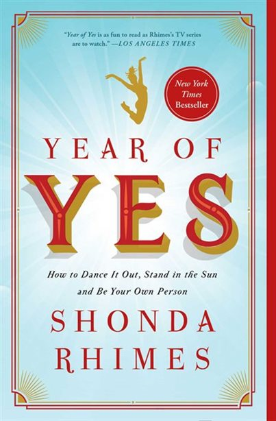 Year of Yes by Shonda Rhimes Book Cover Art