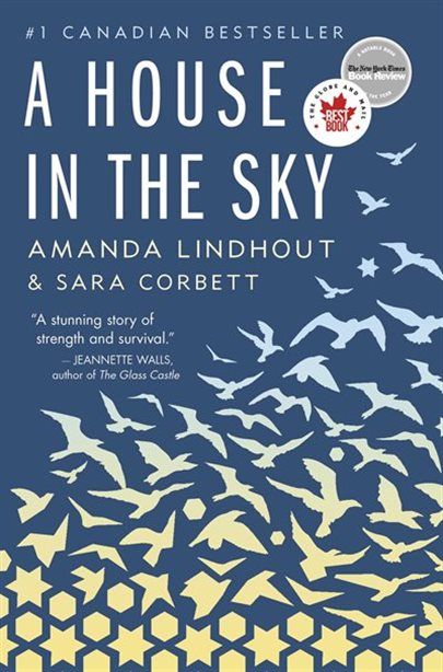 A House in the Sky Book Cover Art
