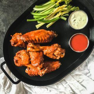 Super Bowl Recipes: Buffalo Turkey Wings