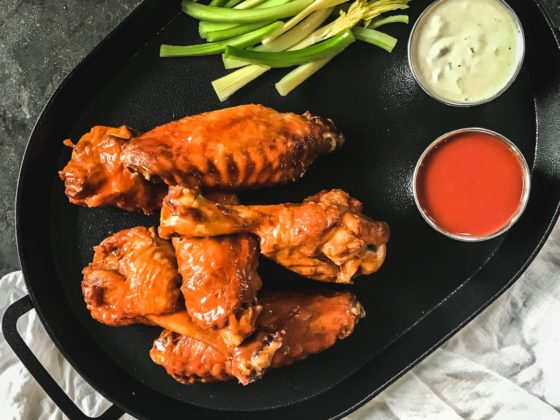 Super Bowl Recipes: Buffalo Turkey Wings
