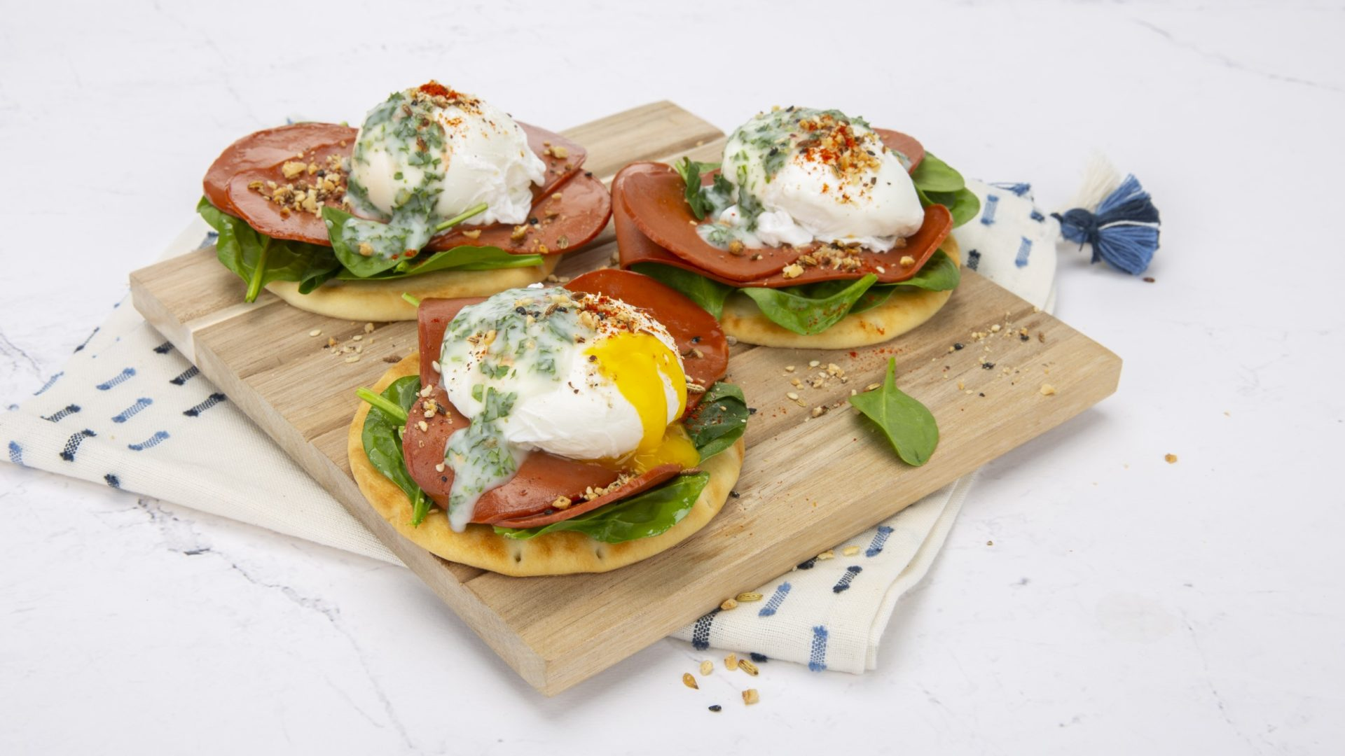 Meatless Monday: Turkish Style Poached Eggs