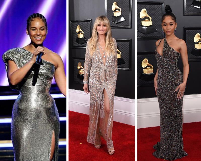 Grammys - Alicia Keys, Heidi Klum