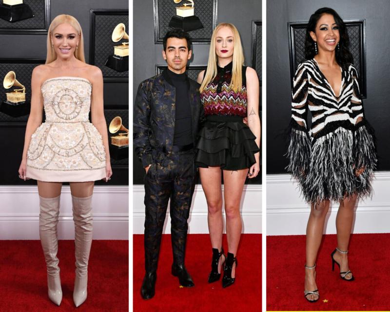 Grammys - Gwen Stefani, Sophie Turner