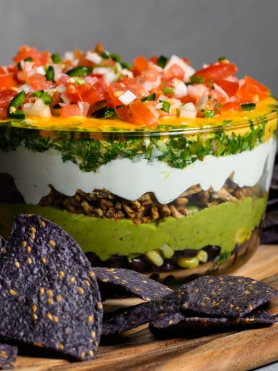 Seven Layer Dip with Chimichurri