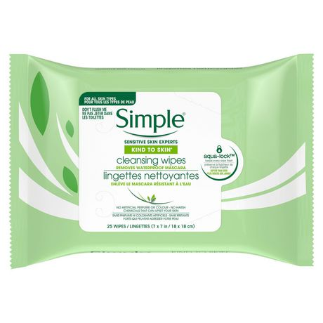 Simple Kind to Skin Cleansing Wipes