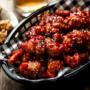 Dindon frit style popcorn d'inspiration coréenne
