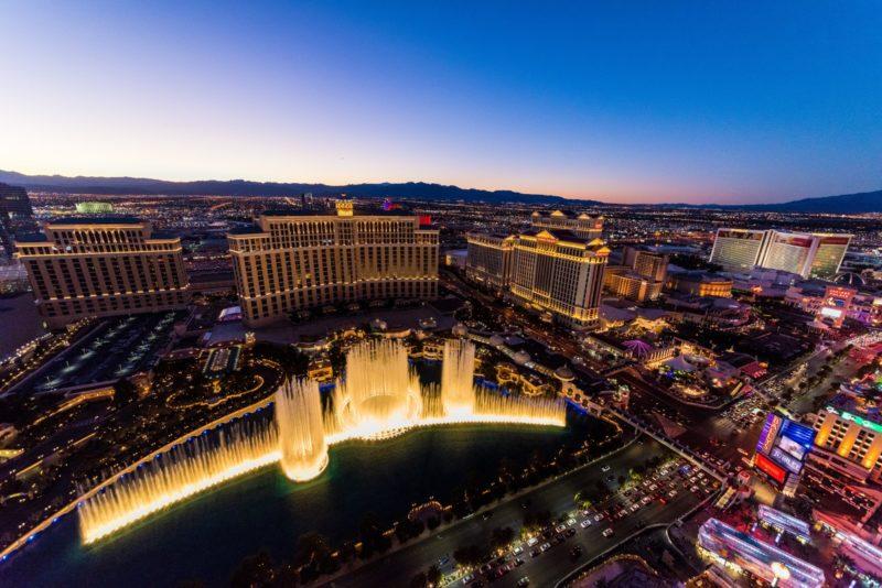 Las Vegas The Bellagio Water Show