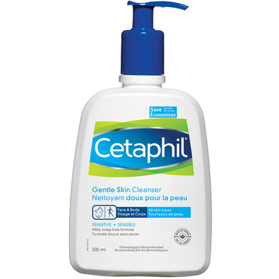 Sensitive Skin Cleanser: Cetaphil