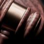 Lawyer and gavel