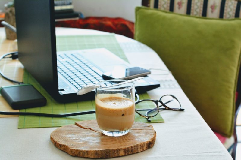 Working from Home: Table Set Up