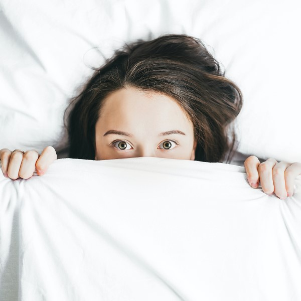 Stress Mess: Women in Bed