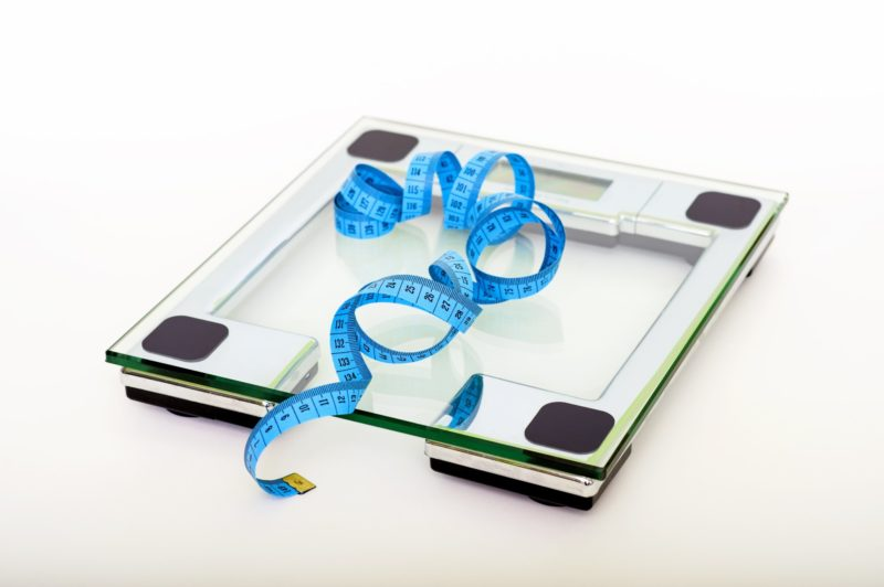 Diet Mentality: Scale and Measuring Tape