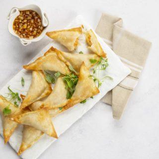 Dumplings: Sweet Potato Sauerkraut