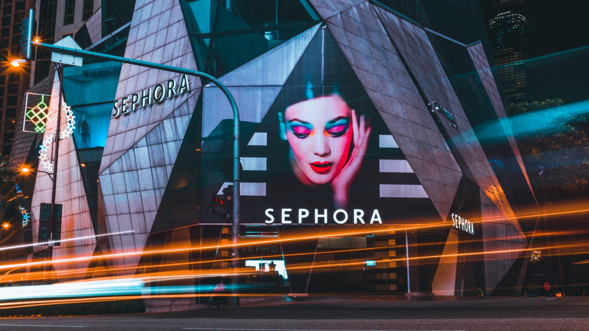 Spring Sale: Sephora Store Exterior