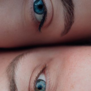 Eyebrow: Two Ladies Natural Eyes