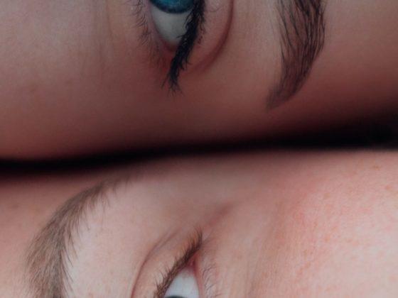 Eyebrow: Two Ladies Natural Eyes