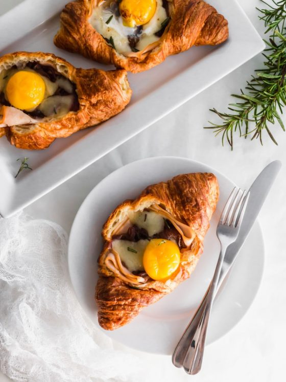 Turkey and Egg Croissant