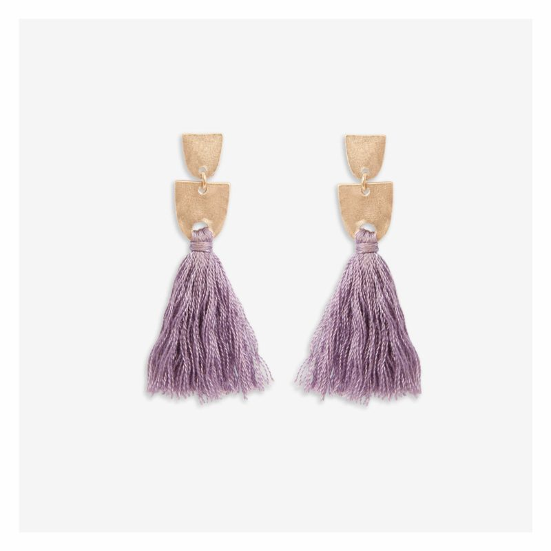 Fashion Accessories for Spring: Tassel Earrings