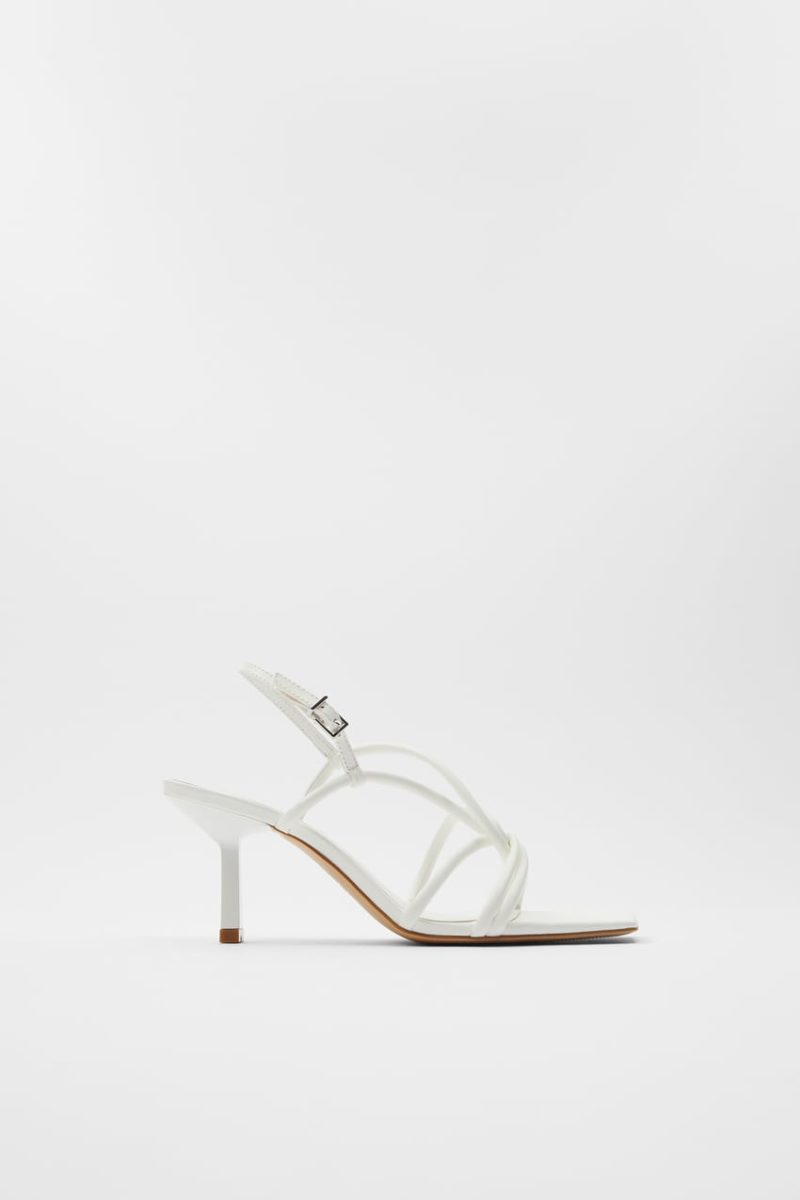 Fashion Accessories for Spring: White Sandals