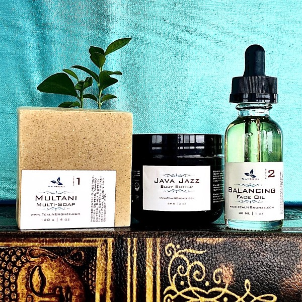 Gifts: Teal n Bronze Skin Care