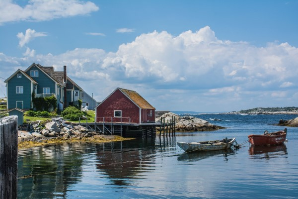 Summer Travel: Peggy's Cove