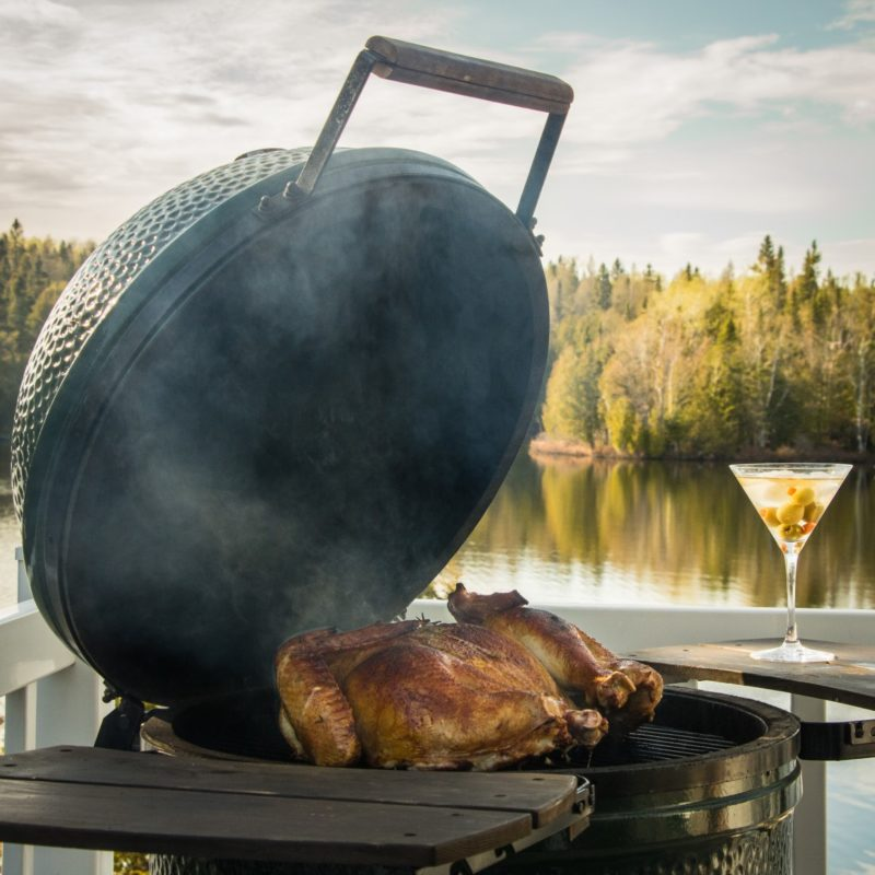 La fête du Canada: du Big Green Egg