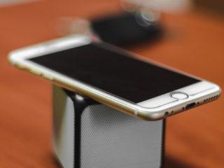 quarantine: iPhone + Speaker