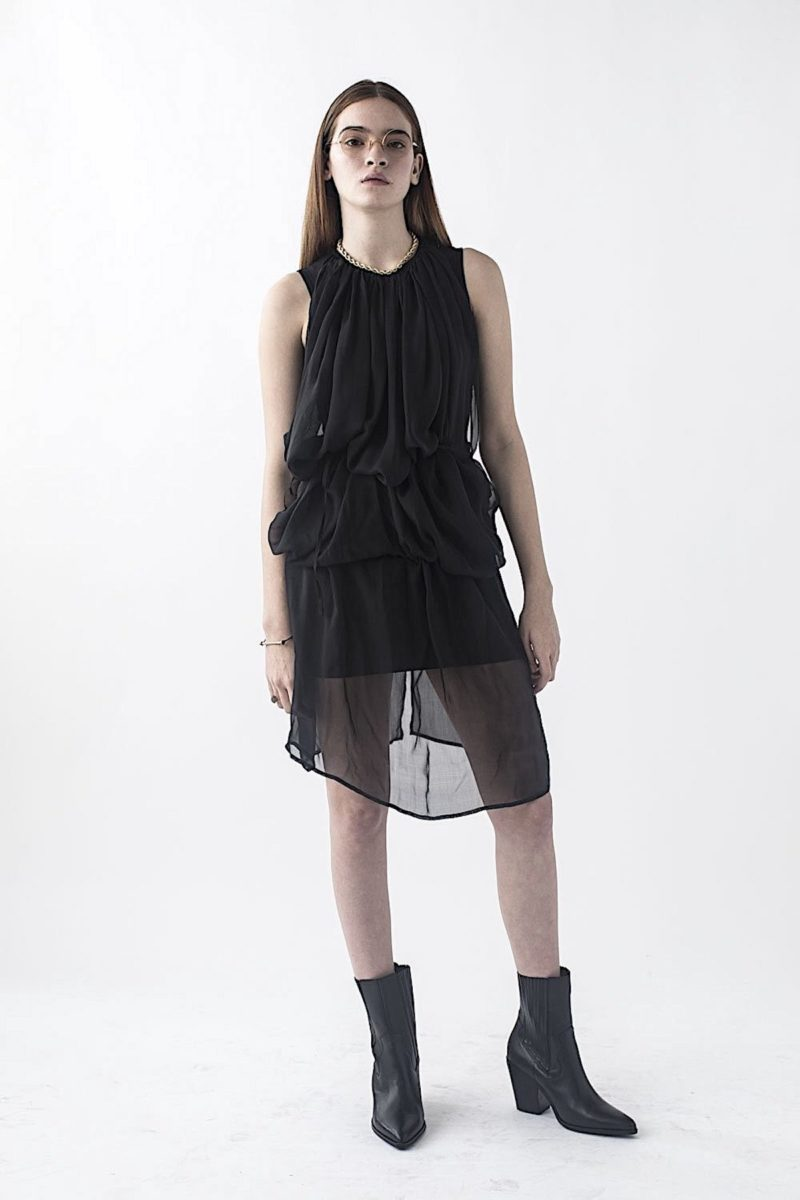 Silk Dress Canada Montreal Fashion Travis Tadeo