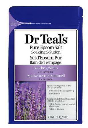 Lavender: Dr. Teal's Pure Epsom Salt