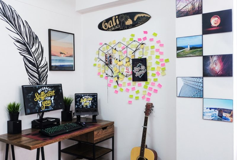 Home Office Productivity Decor