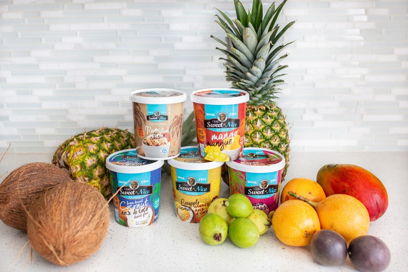Sweet N Nice: Tropical Fruit and Ice Cream