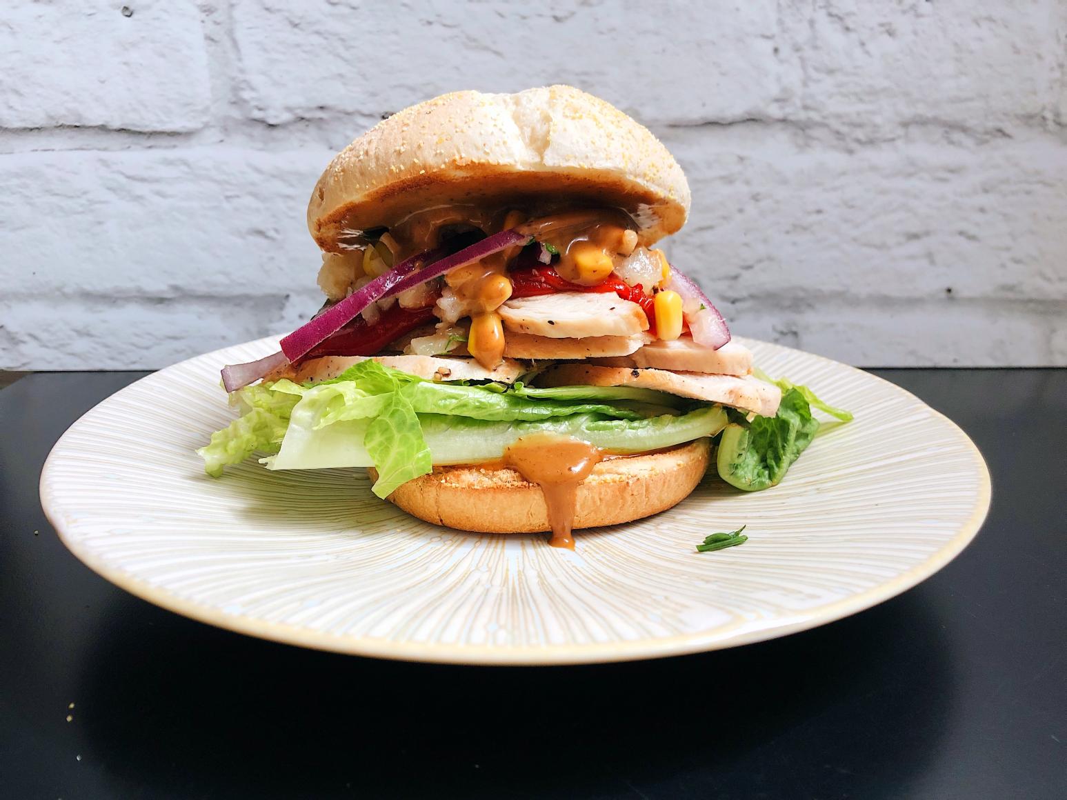 Teriyaki: Turkey Sandwich