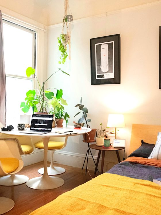 WFH Productivity Home Office Decor Tip