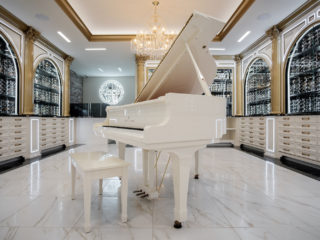 Designer Glasses: Baby Grand Piano