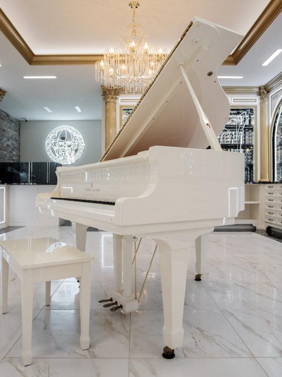 Designer Glasses: Baby Grand Piano