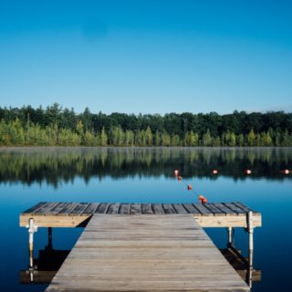 Long Weekend: Dock at Lake