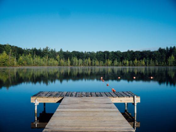 Long Weekend: Dock at Lake