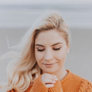Multiple Sclerosis: Woman in Orange Sweater